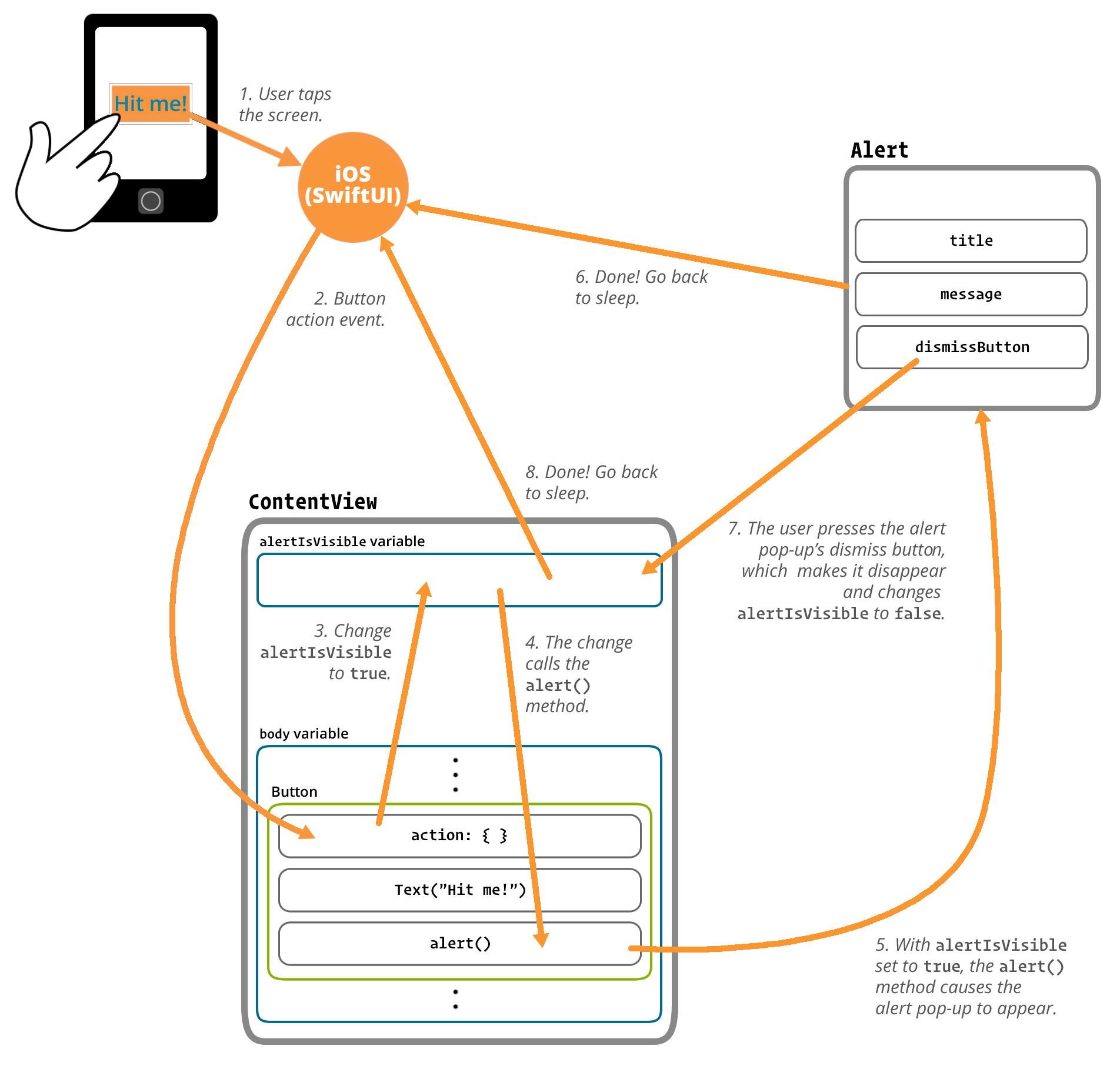 The anatomy of your app