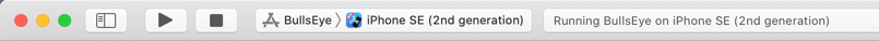 The Xcode activity viewer