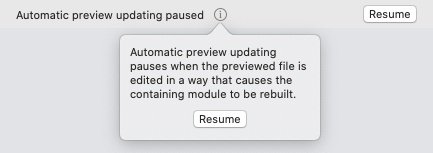 A cryptic message from Xcode