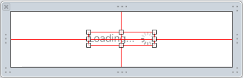 The container view has red constraints