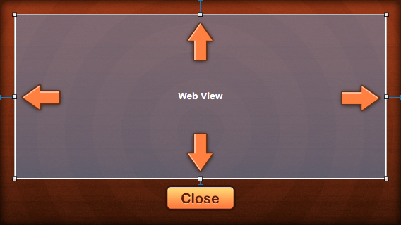 The four constraints on the web view