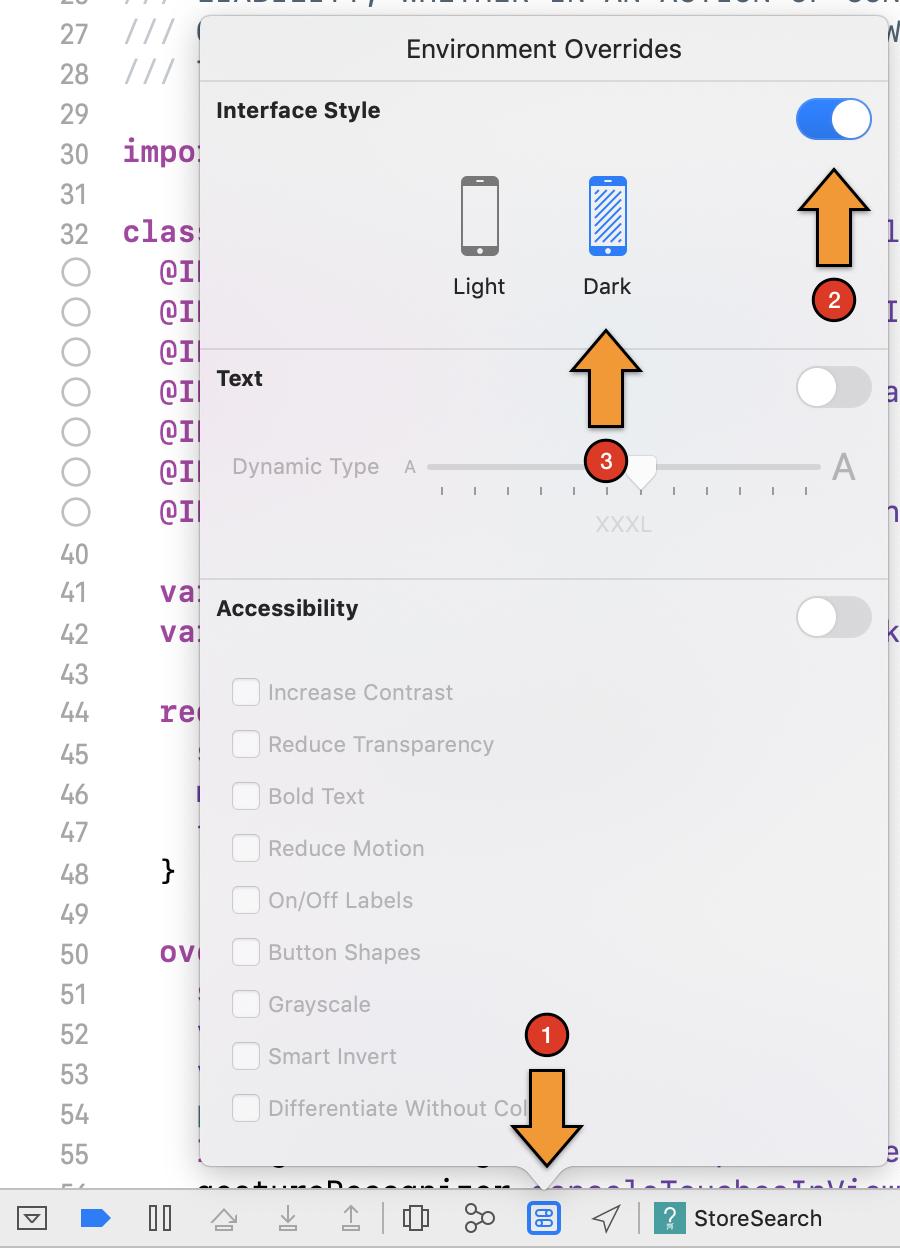 Enable dark mode in your app