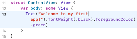 The code works, but it's hard to read