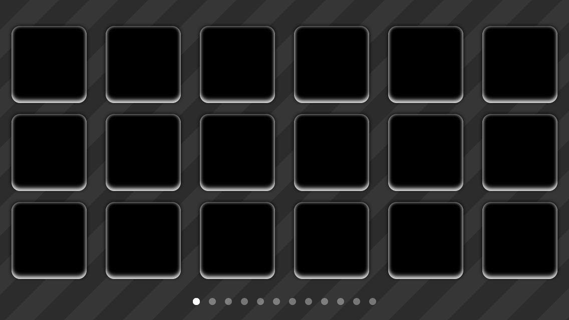 The buttons now have a custom background image