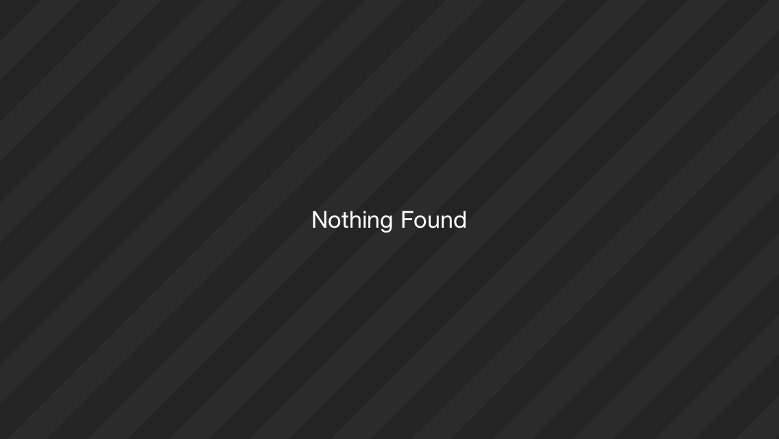 Yup, nothing found here either