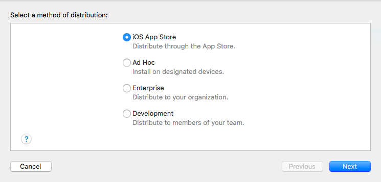 App distribution method