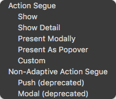 """The """"close"""" action is not listed in the popup"""