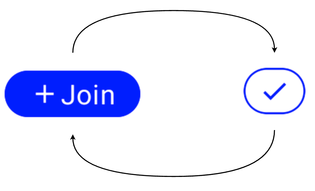 Join Button with more content