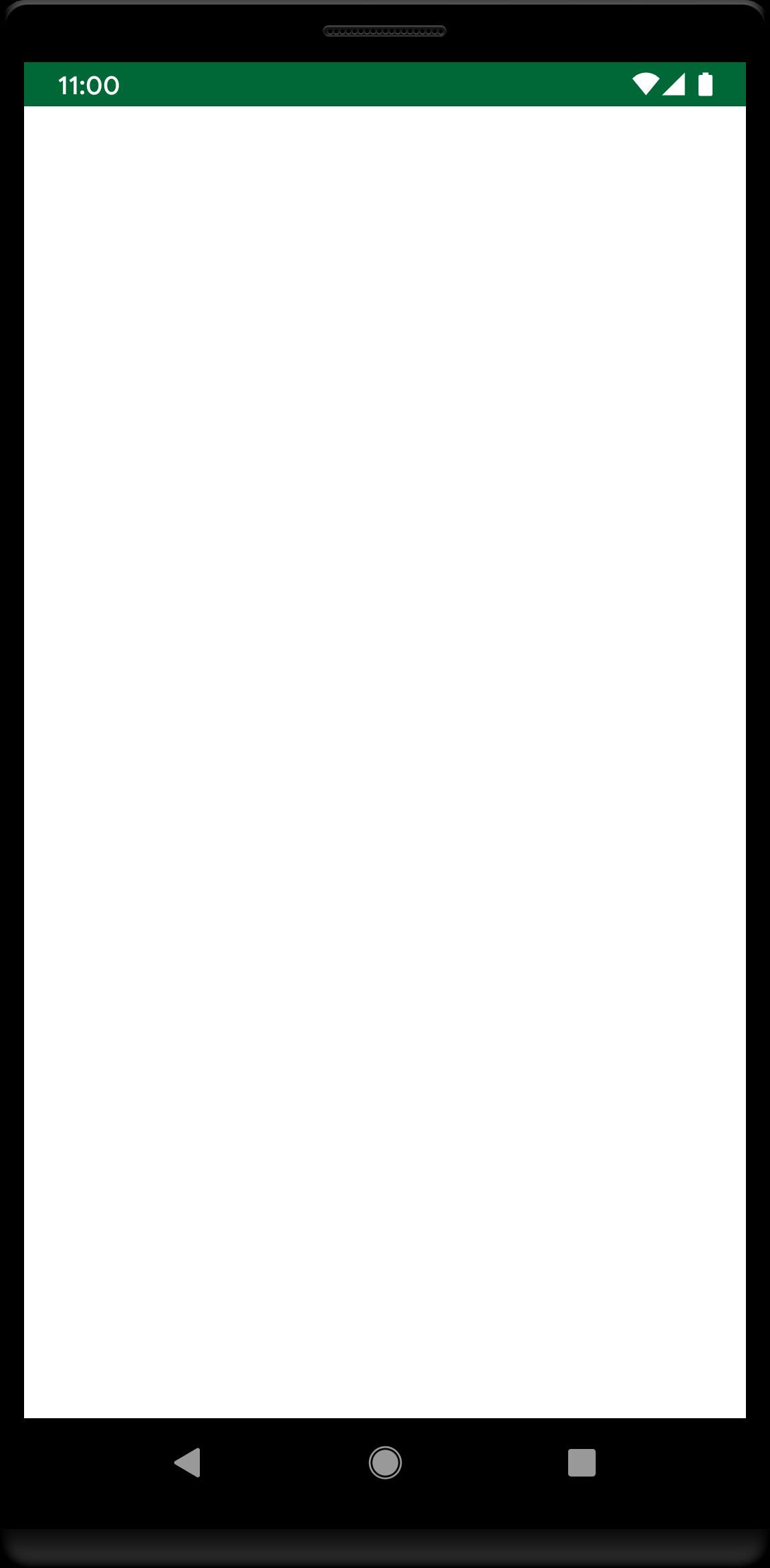 Empty Notes Screens
